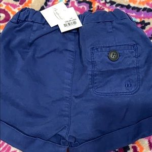 Bonpoint baby girl jeans shorts